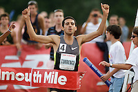 Falmouth Road Race: invitational mile, men's winner David Torrence