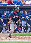 8 March 2015: Boston Red Sox outfielder Jackie Bradley Jr. in Spring Training action against the New York Mets at Tradition Field in Port St. Lucie, Florida. The Mets fell to the Red Sox 6-3 in Grapefruit League play. Mandatory Credit: Ed Wolfstein Photo *** RAW (NEF) Image File Available ***
