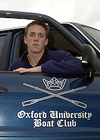 London, GREAT BRITAIN.Oxford Trail 8's.Oxford President Matt Smith. Varsity: Boat Race  [Mandatory Credit: Peter Spurrier: Intersport Images]
