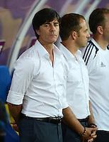 FUSSBALL  EUROPAMEISTERSCHAFT 2012   VORRUNDE Deutschland - Portugal          09.06.2012 Trainer Joachim Loew (Deutschland)