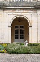 front court yard couvent des jacobins saint emilion bordeaux france