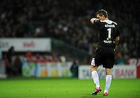 FUSSBALL   1. BUNDESLIGA   SAISON 2011/2012    14. SPIELTAG SV Werder Bremen - VfB Stuttgart       27.11.2011 Sven ULREICH (Stuttgart) ist enttaeuscht