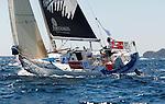 Depart de la WOW Cap Istanbul..Artemis 37.Jonny Malbon