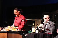 "2011 Taste of Tulalip food & wine seminar emceed by head ""Thirsty Girl"" Leslie Sbrocco and hosted by Top Chef's ""Fan Favorite"" Carla Hall."