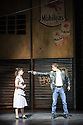 London, UK. 16.07.2015. Matthew Bourne's THE CAR MAN opens at Sadler's Wells. Picture shows: Katy Lowenhoff (Rita) and Dominic North (Angelo). Photograph © Jane Hobson.