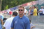 Head coach Tom Stone at SAS Stadium in Cary, North Carolina on 6/14/03 before a game between the Carolina Courage and Atlanta Beat. The game ended 0-0.