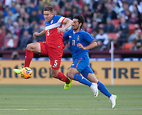San Francisco, CA., - Tuesday, May 27, 2014: USA Men's soccer vs Azerbaijan during the first half of the game at Candlestick Park.