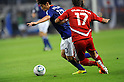 Shinji Kagawa (JPN), Dilshod Vasiev (TJK),.OCTOBER 11, 2011 - Football / Soccer :.2014 FIFA World Cup Asian Qualifiers Third round Group C match between Japan 8-0 Tajikistan at Nagai Stadium in Osaka, Japan. (Photo by Takahisa Hirano/AFLO)