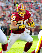 Washington Redskins running back Roy Helu (29) carries the ball early in the first quarter against the New York Jets  at FedEx Field in Landover, Maryland on Sunday, December 4, 2011.  The Jets won the game 34 - 19..Credit: Ron Sachs / CNP.(RESTRICTION: NO New York or New Jersey Newspapers or newspapers within a 75 mile radius of New York City)