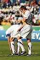 (L-R) Luke Adams, Rhys Jordan (NZL), JUNE 29, 2011 - Football : Rhys Jordan of New Zealand looks dejected during the 2011 FIFA U-17 World Cup Mexico Round of 16 match between Japan 6-0 New Zealand at Estadio Universitario in Monterrey, Mexico. (Photo by MEXSPORT/AFLO)