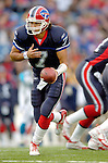 Buffalo Bills quarterback J.P. Losman prepares for a handoff against the Carolina Panthers on November 27, 2005 at Ralph Wilson Stadium in Orchard Park, NY. The Panthers defeated the Bills 13-9. Mandatory Photo Credit: Ed Wolfstein
