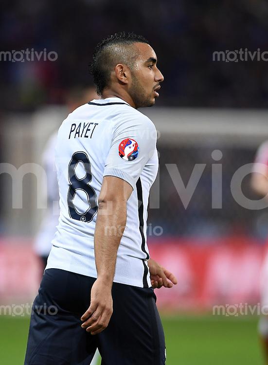 FUSSBALL EURO 2016 GRUPPE A IN LILLE Schweiz - Frankreich     19.06.2016 Dimitri Payet (Frankreich)