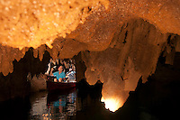 Barton Creek, Cayo, Belize, April 2012. Barton Creek lies deep within lands owned by the Amish. It is believed that the Maya once used this cave for ritual ceremonies. While canoeing through the cave see large and colorful formations, skeletal remains and other cultural artifacts left behind by the Maya centuries ago. Photo by Frits Meyst/Adventure4ever.com