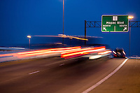 Mopac Expressway, Loop 1, is a busy and often overcrowded freeway which provides access to the west side of Austin.
