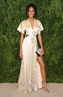 NEW YORK, NY - NOVEMBER 07:  Cindy Bruna attends 13th Annual CFDA/Vogue Fashion Fund Awards at Spring Studios on November 7, 2016 in New York City. Photo by John Palmer/ MediaPunch