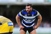 Nathan Catt of Bath Rugby looks on. Aviva Premiership match, between Bath Rugby and Worcester Warriors on September 17, 2016 at the Recreation Ground in Bath, England. Photo by: Patrick Khachfe / Onside Images