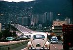 Motorway in Caracas,Venezuela, Caribbean 1976