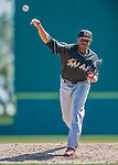 7 March 2016: Miami Marlins pitcher Edwin Jackson on the mound during a Spring Training pre-season game against the Washington Nationals at Space Coast Stadium in Viera, Florida. The Nationals defeated the Marlins 7-4 in Grapefruit League play. Mandatory Credit: Ed Wolfstein Photo *** RAW (NEF) Image File Available ***