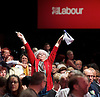 Labour Party Conference <br /> Day 4<br /> 30th September 2015 <br /> Brighton Centre, Brighton, East Sussex <br /> <br /> <br /> delegates in hall trying to get the attention of the chairman <br /> <br /> Photograph by Elliott Franks <br /> Image licensed to Elliott Franks Photography Services