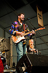 Tab Benoit performs at the New Orleans Jazz and Heritage Festival in New Orleans, Louisiana, April 29, 2011.