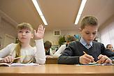 Sascha und Igor in Ihrer Schulklasse