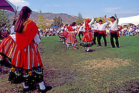 Portuguese Folk Dancers at Annual Festival of the Grape, Oliver, BC, South Okanagan Valley, British Columbia, Canada