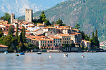 Rezzonico, a town on Lake Como, Italy