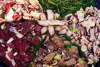 Poke fish platter