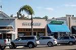 Shops downtown Encinitas