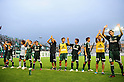 Matsumoto Yamaga FC team group,SEPTEMBER 3, 2011 - Football / Soccer :Matsumoto Yamaga players acknowledge fans after the 91st Emperor's Cup first round match between Matsumoto Yamaga F.C. 3-0 Maruoka Phoenix at Matsumoto Stadium &quot;Alwin&quot; in Nagano, Japan. (Photo by AFLO)