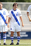 31 August 2014: Duke's Zach Mathers. The Duke University Blue Devils hosted the Stetson University Hatters at Koskinen Stadium in Durham, North Carolina in a 2014 NCAA Division I Men's Soccer match. Duke won the game 8-2.