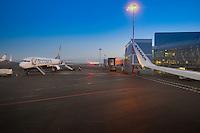 Ryanair Plane in Vilnius Airport, Lithuania