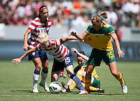 CARSON, California - Sunday September 16, 2012; The National team of Australia lead the US WNT at half time 1-0 during an International friendly game at Home Depot Center stadium.