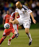 LA Galaxy midfielder Clint Mathis (84) moves on the ball. The LA Galaxy and Toronto FC played to a 0-0 draw at Home Depot Center stadium in Carson, California on Saturday May 15, 2010.  .