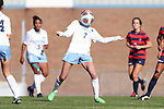 12 November 2016: North Carolina's Annie Kingman. The University of North Carolina Tar Heels played the Liberty University Flames at Fetzer Field in Chapel Hill, North Carolina in a 2016 NCAA Division I Women's Soccer Tournament First Round match. UNC won the game 3-0