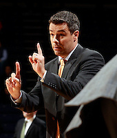 CHARLOTTESVILLE, VA- NOVEMBER 26:  Head coach Tony Bennett of the Virginia Cavaliers calls a play during the game on November 26, 2011 at the John Paul Jones Arena in Charlottesville, Virginia. Virginia defeated Green Bay 68-42. (Photo by Andrew Shurtleff/Getty Images) *** Local Caption *** Tony Bennett