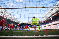 HARRISON, NJ - Sunday March 6, 2016: The New York Red Bulls lose 0-2 to Toronto FC in their home opener at home at Red Bull Arena in regular season MLS play.