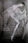 A posing dancer
