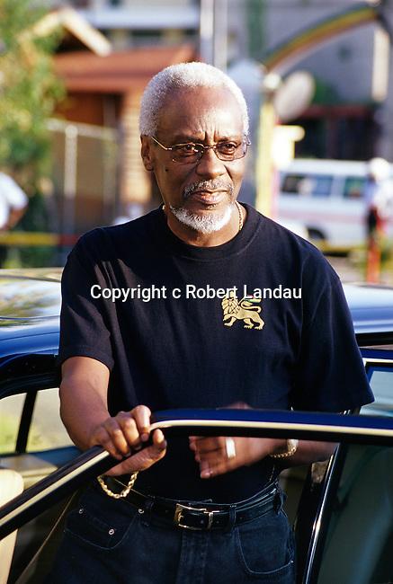 Jamaican Prime Minister P.J.