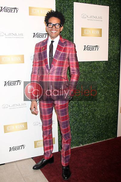 Aaron Walton<br /> at the ICON Mann Power Dinner Party, Mr C Beverly Hills, Beverly Hills, CA 02-18-15<br /> David Edwards/DailyCeleb.com 818-249-4998