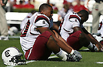 13 October 2007: South Carolina's Eric Norwood. The University of South Carolina Gamecocks defeated the University of North Carolina Tar Heels 21-15 at Kenan Stadium in Chapel Hill, North Carolina in an NCAA College Football Division I game.