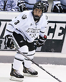 John Gilmour (PC - 3) - The Providence College Friars tied the visiting Boston College Eagles 3-3 on Friday, December 7, 2012, at Schneider Arena in Providence, Rhode Island.
