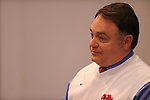 Ole Miss coach Houston Nutt talks about recruiting class on National Signing Day on Wednesday, February 3, 2010 in Oxford, Miss.