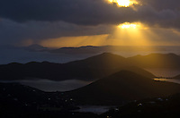 Sunrise from Bordeaux Mountain<br />
