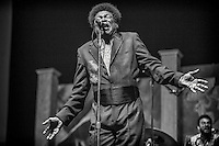 Charles Bradley of Charles Bradley and the Extraordinaires performs on the Blues Tent Stage during the 2013 New Orleans Jazz & Heritage Music Festival at Fair Grounds Race Course on April 27, 2013 in New Orleans, Louisiana. USA.