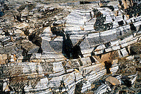 GNEISS<br /> Fordham Gneiss, Banded Rock<br /> Metamorphic<br /> Briarcliff, NY