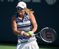 ANASTASIA RODIONOVA (AUS)<br /> The US Open Tennis Championships 2014 - USTA Billie Jean King National Tennis Centre -  Flushing - New York - USA -   ATP - ITF -WTA  2014  - Grand Slam - USA  25th August 2014. <br /> <br /> &copy; AMN IMAGES