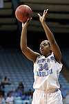 23 March 2014: North Carolina's Xylina McDaniel. The University of North Carolina Tar Heels played the University of Tennessee Martin Skyhaws in an NCAA Division I Women's Basketball Tournament First Round game at Cameron Indoor Stadium in Durham, North Carolina. UNC won the game 60-58.