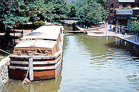 D.C.: Georgetown--Canal, barge. C & O Canal, 1828-1850.  Photo '85.