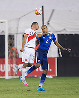 Washington, DC - September 4, 2015: The USMNT defeated Peru 2-1 during their international friendly at RFK Stadium.
